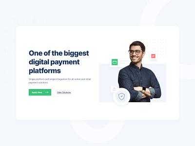 Digital Payment Platform payment method payment branding clean minimal ux ui 2020 2020 trends
