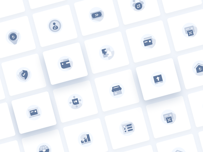 Icons for Online Payment Platform payments online payment icon design icons clean minimal design ui 2020 2020 trends