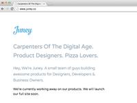 Juney | Carpenters of The Digital Age.