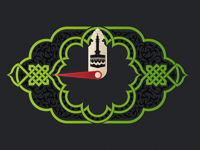Wathakker El Qibla wathakker el qibla compass muslim islam pray dark mecca ios7