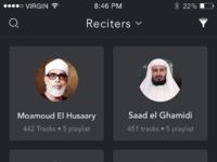 3 reciters