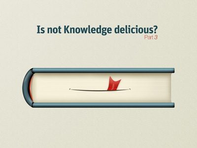 is`not Knowledge delicious ? book poster smile knowledge delicious