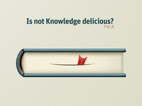 is`not Knowledge delicious ?