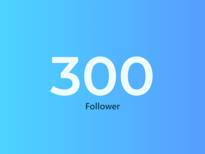 300 Follower cards website branding app clean web ui typography design ux minimal