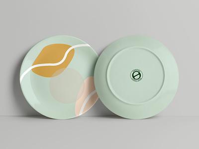 Branding packaging design/Chocoa coffee shop/plate plate vector minimal logo design illustration branding branding packaging design coffee