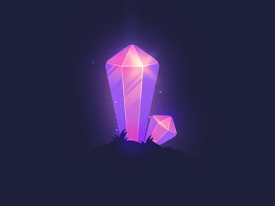 Troll gem in the night