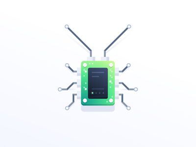 A bug in the microchip