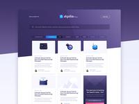 Algolia Blog redesign