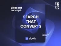 Algolia Billboard Concept