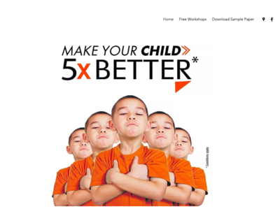 One page website