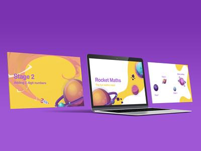 Keynote design for e-learning elearning figma keynote illustration design branding ux