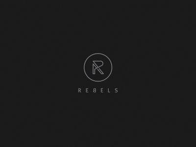 Rebels PR pr public relations social media modern minimalistic elegant