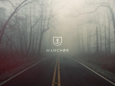 Manchør fashion anchor label brand logo design branding crest wip