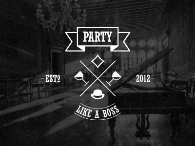 P.L.A.B. party like a boss crest wine drink
