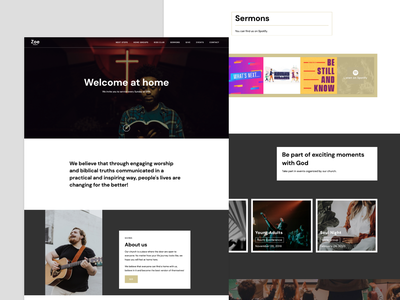 Churchy Webflow Template website web design church design church webdesign webflow