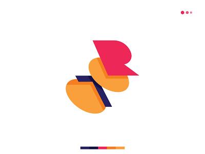 ROTO procreate custom logo modern logo 3d logo o logo r logo 3d artist colorful roto design logo branding flat minimal typography illustration brand vector icon brandauxin