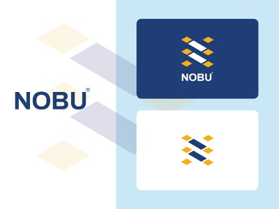 nobu clean new n letter n letter logo n logo branding design brand identity brand design 3d design logo branding flat minimal typography illustration brand vector icon brandauxin