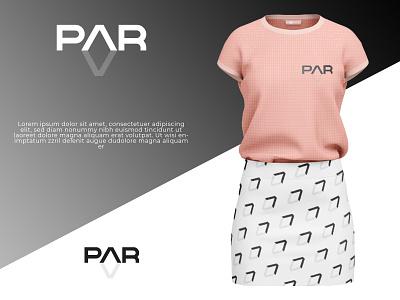 PAR Logo modern simple t shirt par ui minimal design branding logo 3d graphic design animation typography illustration brand vector icon brandauxin