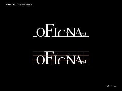 Oficina logo branding logodesign logotype logo typography inspiration brands type layout golden ratio design