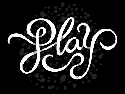 Dribbble 008 typography hand-lettering logo