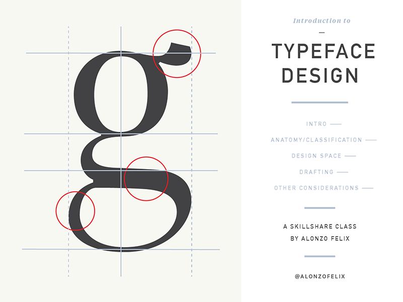 Dribbble 021 skillshare class typeface typeface design font letters