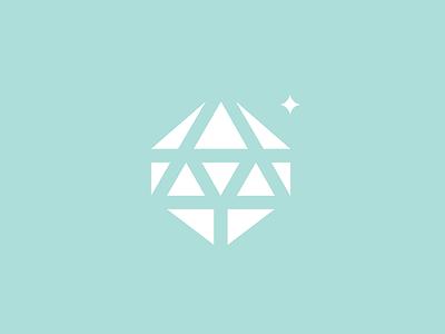 Dribbble 026 logo identity mark gem killed