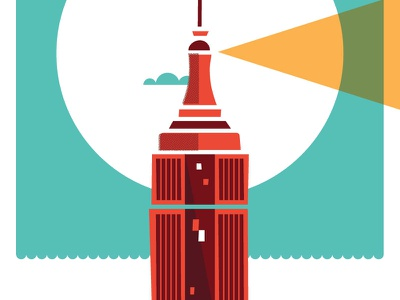 Dribbble 018 illustration poster new york sandy