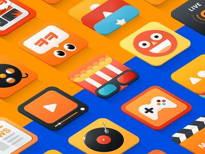 Fresh Icon colorful fresh gomtv gom orange icon