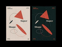 Super Shape Geometry Daily Poster