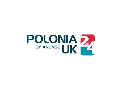 Polonia24 Logo journalist elegant simple modern logo combination logomark logotype logo media