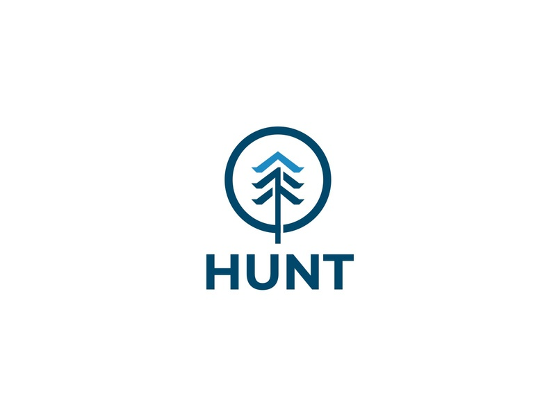 HUNT tree simple modern brand outdoor activity activity forest jungle outdoor