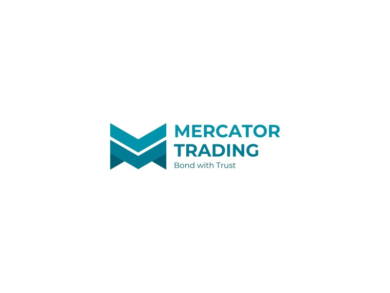 MERCATOR TRADING triangle arrow letter m symbol logo investment invest money trader trading