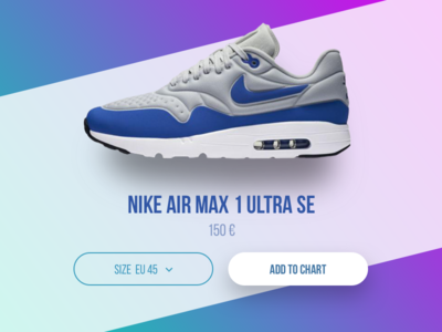 Dailyui 012 Single Product shadow ultra air max product page page product nike daily ui
