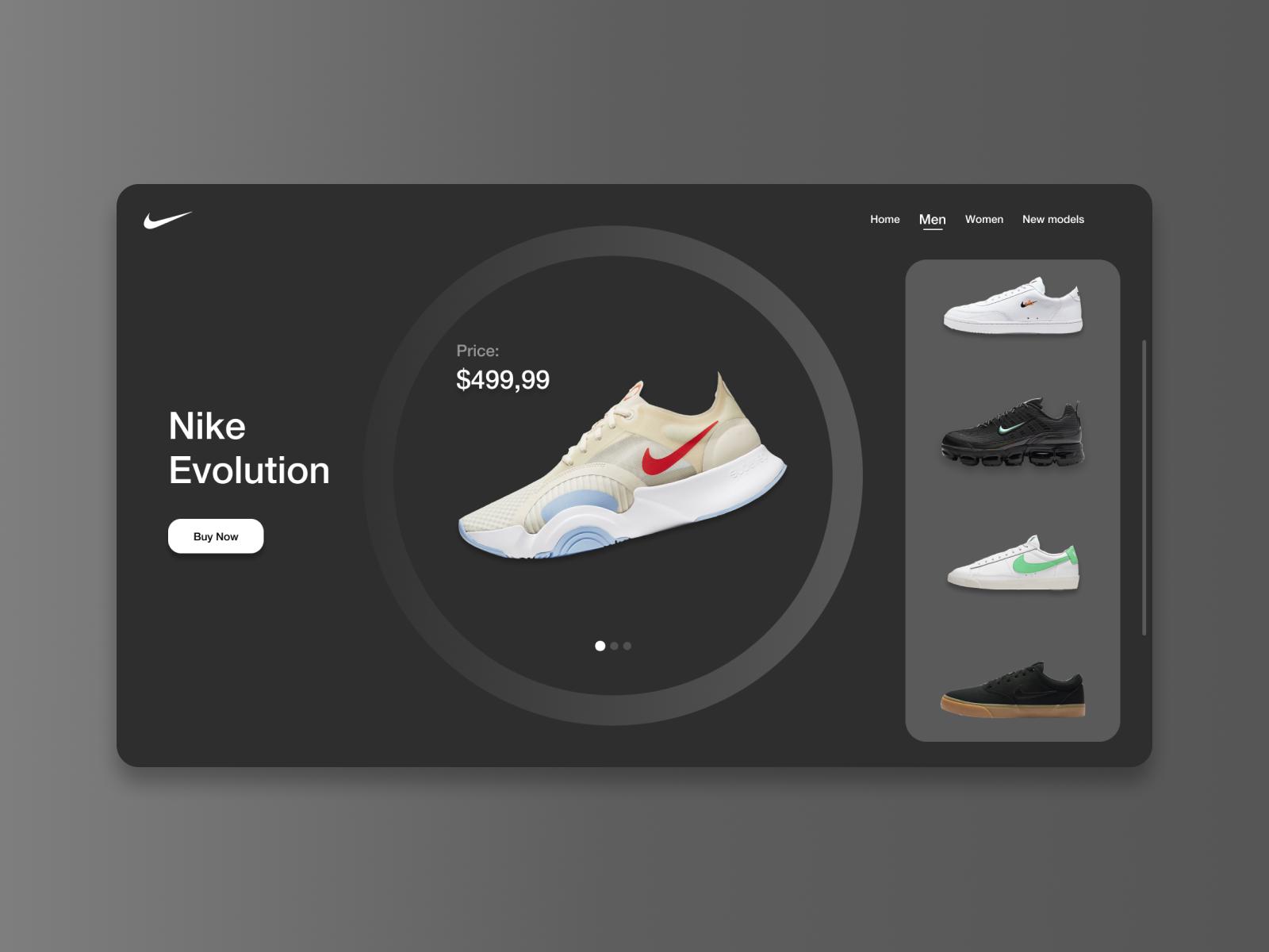 Generosidad humor autoridad  Nike Website - Web Design by Bosko Vidojevic on Dribbble