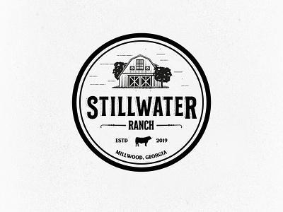 STILLWATER RANCH LOGO agriculture logo logotype logo design logo