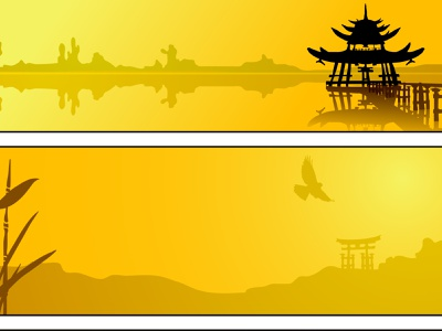 Mellow Yellow Fantasia Summer In Asia_ aye say yeah?!! app branding banners dribbble best shot zazzle redbubble illustration design vector banner design graphic design summertime asian yellow images