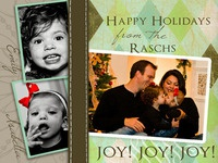 Christmas Card 2007 - front