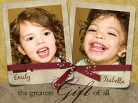 Christmas Card 2008 - front