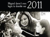 Christmas Card 2011 - back (B)