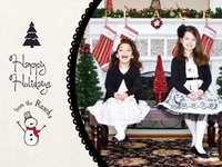 Christmas Card 2011 - front