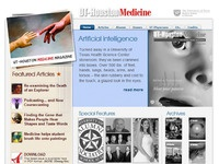 UT-Houston Medicine Magazine Redesign