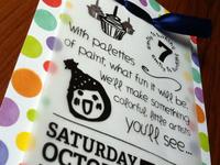 Emily's 7th Birthday Party Invite 2012