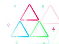 Triforce Minimal Tattoo