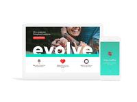 Evolve: Website
