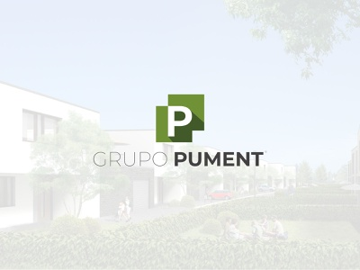 Grupo Pument real estate logo branding brand