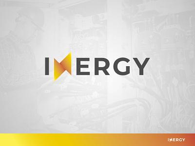 INERGY branding brand logo energy energy logo