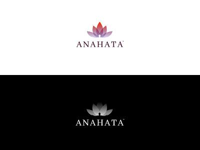 ANAHATA branding logotype logo brand store buddhism lotus