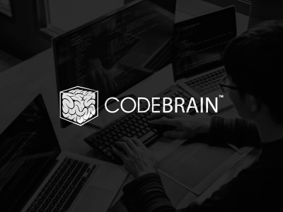 CodeBrain branding brand logotype logo brain codebrain develop developers developer coding code