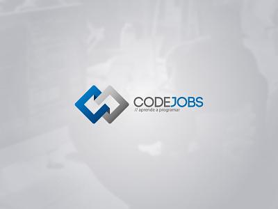CodeJobs branding brand logotype logo jobs codejobs code