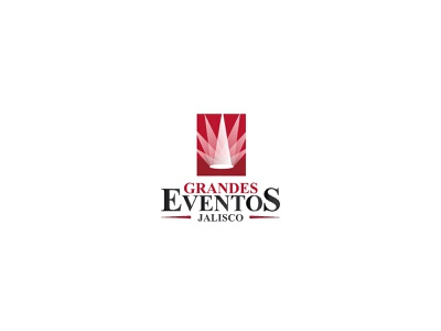 Grandes Eventos Jalisco branding brand logotype logo grandes eventos eventos